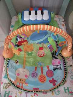 fisher price baby gym playmat