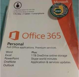 Microsoft Office 365個人版