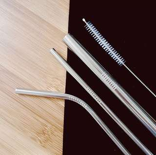 Stainless Reusable Straw Sets
