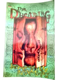 The dreaming english comic book