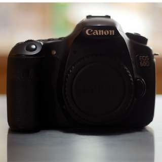 Canon 60D DSLR Body Only