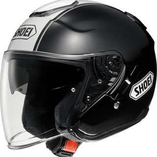 SHOEI J-Cruise CORSO [TC-5 Black/White] Helmet
