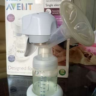 Philips Avent Single Electric Breast Pump Preloved