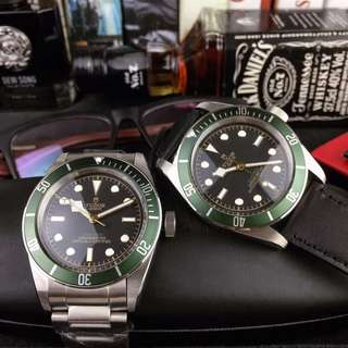 New TUDOR Auto Green version