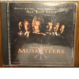 Used CD Single: Bryan Adams / Rod Stewart / Sting – All For Love