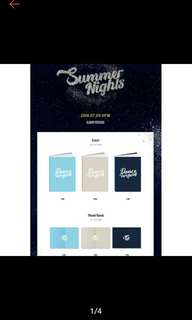 [PRE ORDER] Twice - Summer Nights