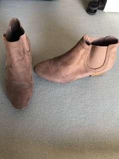 Brown boots