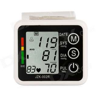 1222. Wrist Style Electronic Blood Pressure Monitor