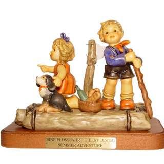 """Goebel Hummel Figurine """"Summer Adventure"""""""