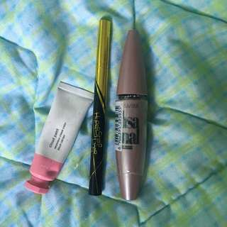 Glossier and Maybelline