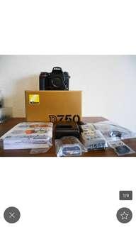 🚚 全片幅輕機 Nikon D750 單機身完整盒裝 非水貨