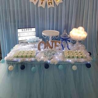 Backdrop & Dessert Table Setup Service_Birthday_ROM_Wedding
