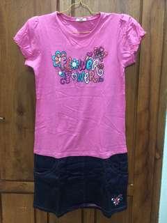 Flower Power Pink Dress - BOSSINI