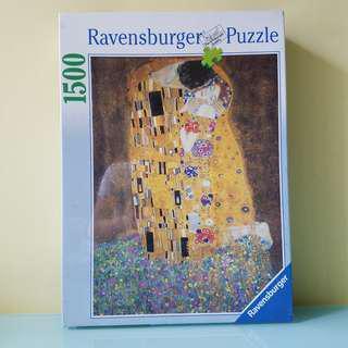 吻 The Kiss (Le Baiser) 名畫1500塊砌圖puzzles