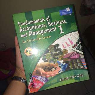 Accountancy and Business Management — Book 1 UST SHS ABM