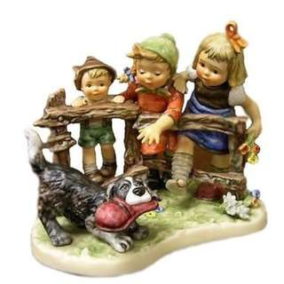 "Goebel Hummel Figurine ""Troublemaker"""