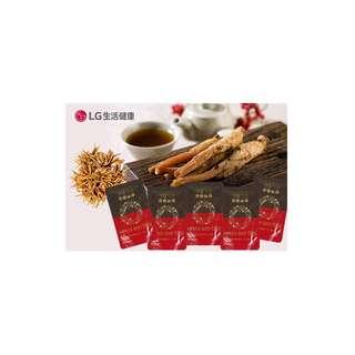 韓國LG生活健康[生活精元] 冬蟲夏草發酵紅蔘口服液 60ml 5包/盒(試飲裝)