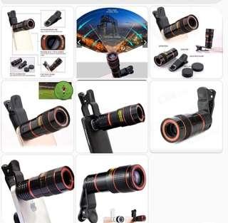 Universal telescope clip Len's