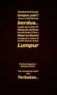 PP Jkt-Kuala Lumpur