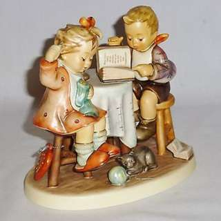 "Goebel Hummel Figurine ""Togetherness"""
