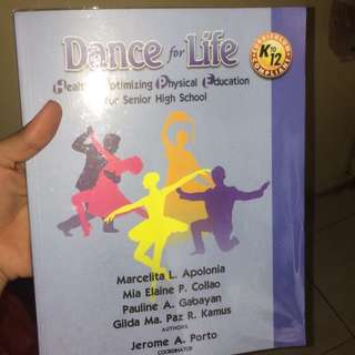 HOPE Dance for Life— PE Book
