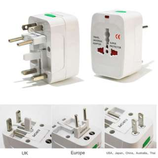 Premium World Power Travel Adaptor With Surge Protection (Brand New)