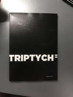 BTS Triptych pb (BTS rapper line photo book)