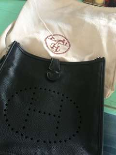 hermes sling with dust bag 2300 ONLY RUSH