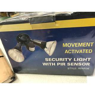 Security Light With PIR Sensor