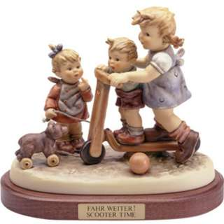 "Goebel Hummel Figurine ""Scooter Time"""