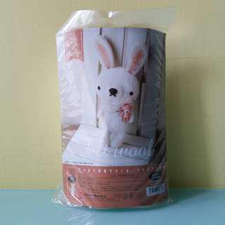 日本製羊毛氈大兔仔材料包