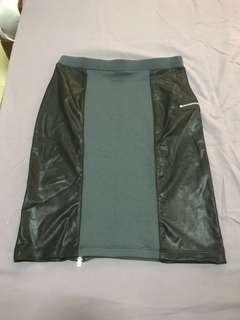 Leather Skirt (David Lerner NY)