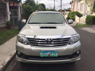 2013 Toyota Fortuner G BNEW Condition 23km Only