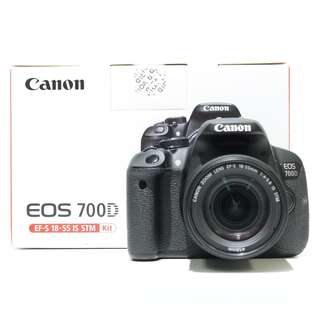 Canon EOS 700D Kit 18-55mm STM Lens