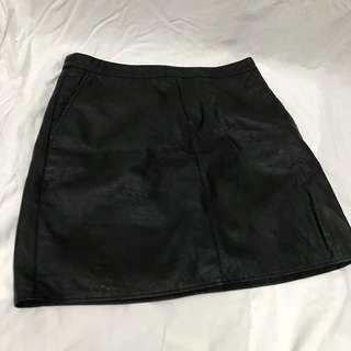 Forever 21 Leatherette Skirt BNWT