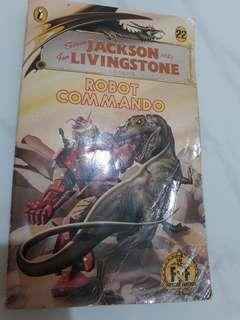 Robot Commando fighting fantasy gamebook