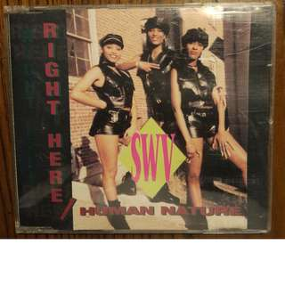 Used CD Single: SWV ‎– Right Here / Human Nature