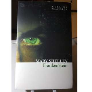 BOOK - FRANKENSTEIN BY MARY SHELLEY (COLLINS CLASSICS)