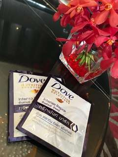 Dove Hair treatment ( for travel use )