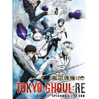 Tokyo Ghoul Re: Ep.1-12 End Anime DVD
