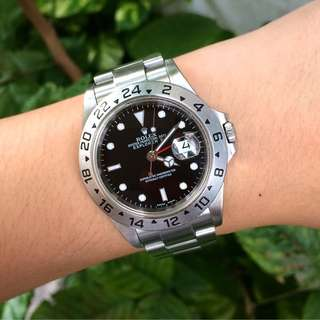 Authentic Rolex Explorer II