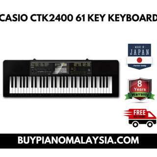 CASIO CTK2400 61 KEY KEYBOARD