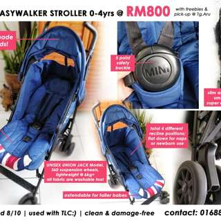 Mini Easywalker 0-4yrs