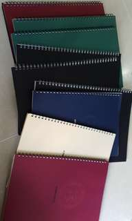 Azone Notebooks A5 A4 B5