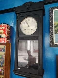 Vintage clock .. 2 hole