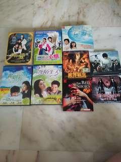 DVD & VCD @$2.50 each