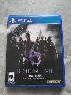 PS4 Resident Evil 6