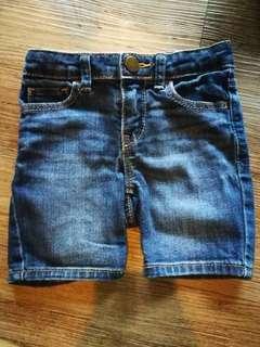 2t unisex Baby Gap Jeans Shorts