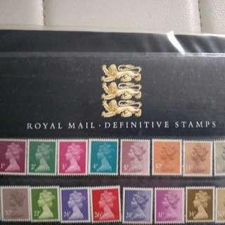Vintage Rare stamps 8 album few hundred of stamp