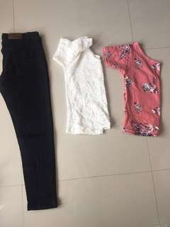 2pcs.Top & Pants